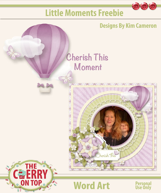 Little Moments Freebie from The Cherry On Top