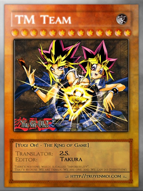 YUGI-OH! chap 27 - trò chơi trừng phạt trang 27