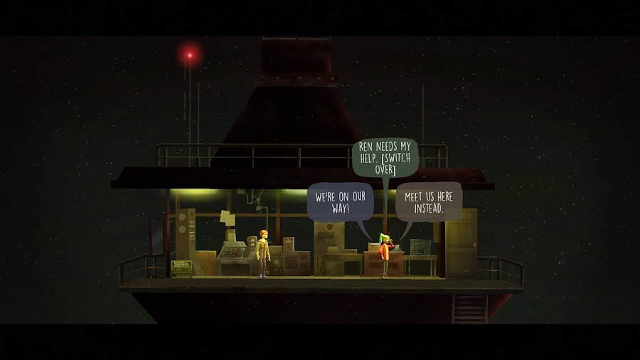 oxenfree pc speech bubble epic games store