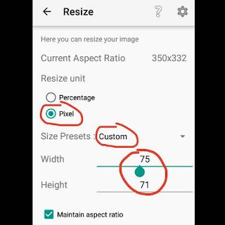 Cara Mengubah Ukuran Gambar di Android