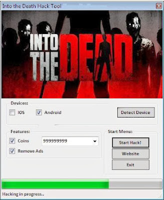 Download Free Into The Death (All Versions) Hack  Unlimited Coins 100% working and Tested for IOS and Android MOD.