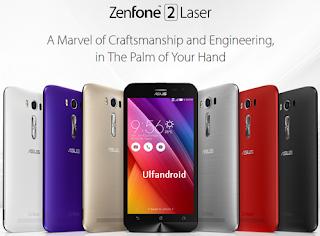 Cara Flashing Asus Zenfone 2 Laser
