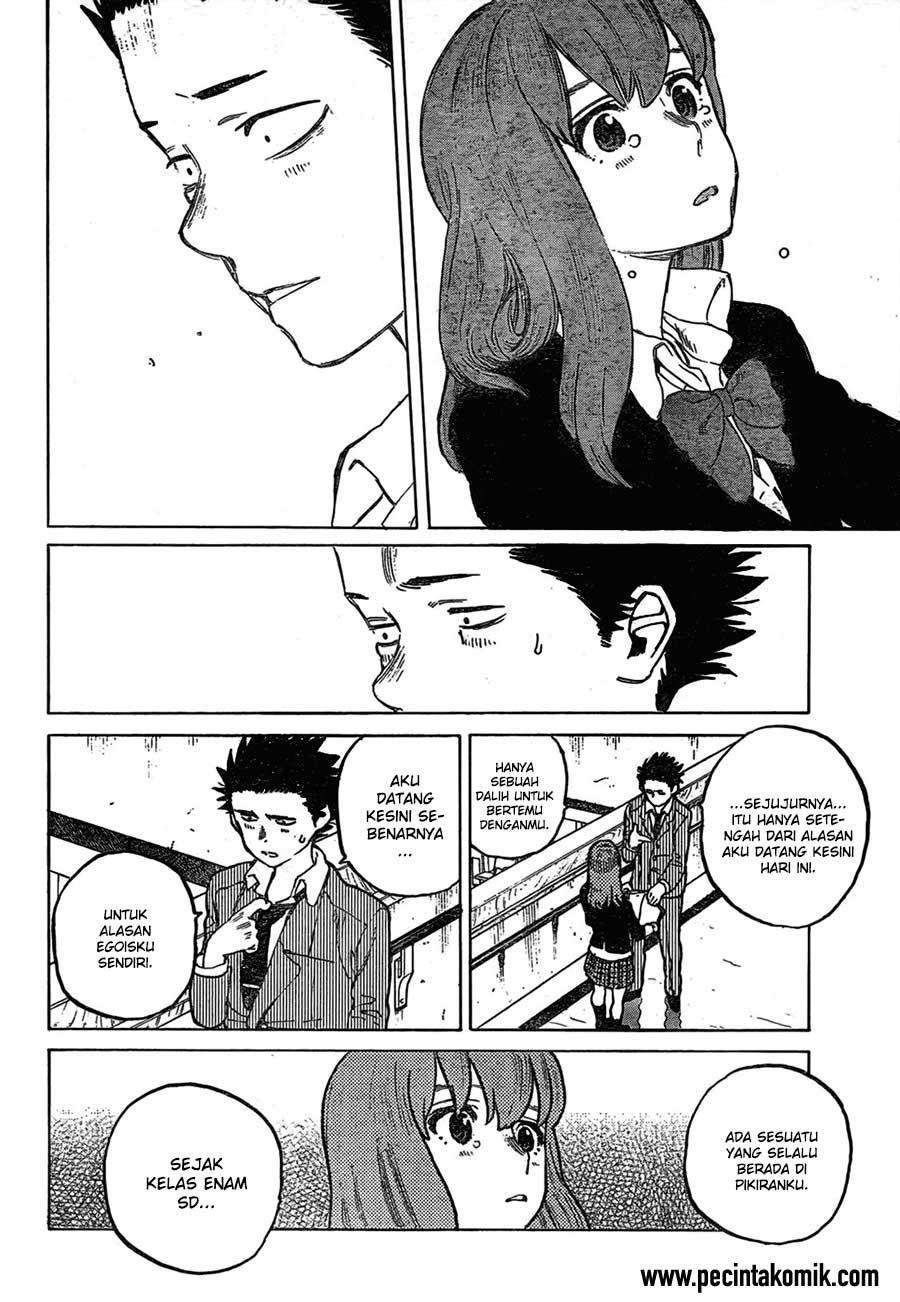 Koe no Katachi Chapter 06-15