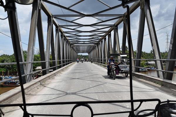 Jembatan sungai Asahan Tanjung Balai