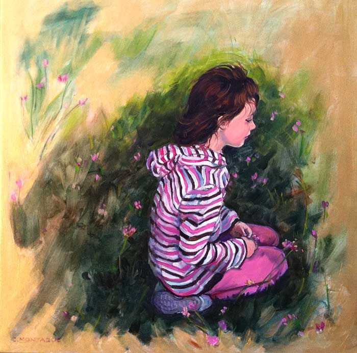 Ранние работы Christine Montague