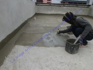 waterproofing dengan system coating semen