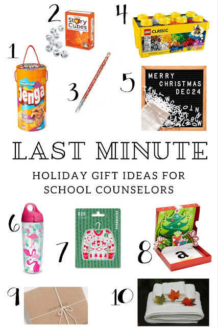 Last Minute Gift Ideas for School Counselors