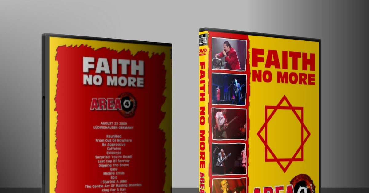 DVD Concert TH Power By Deer 5001: Faith No More - 2009-08-23 ...