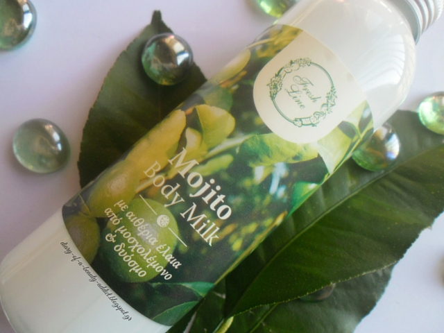 Fresh Line Mojito Body Milk Review