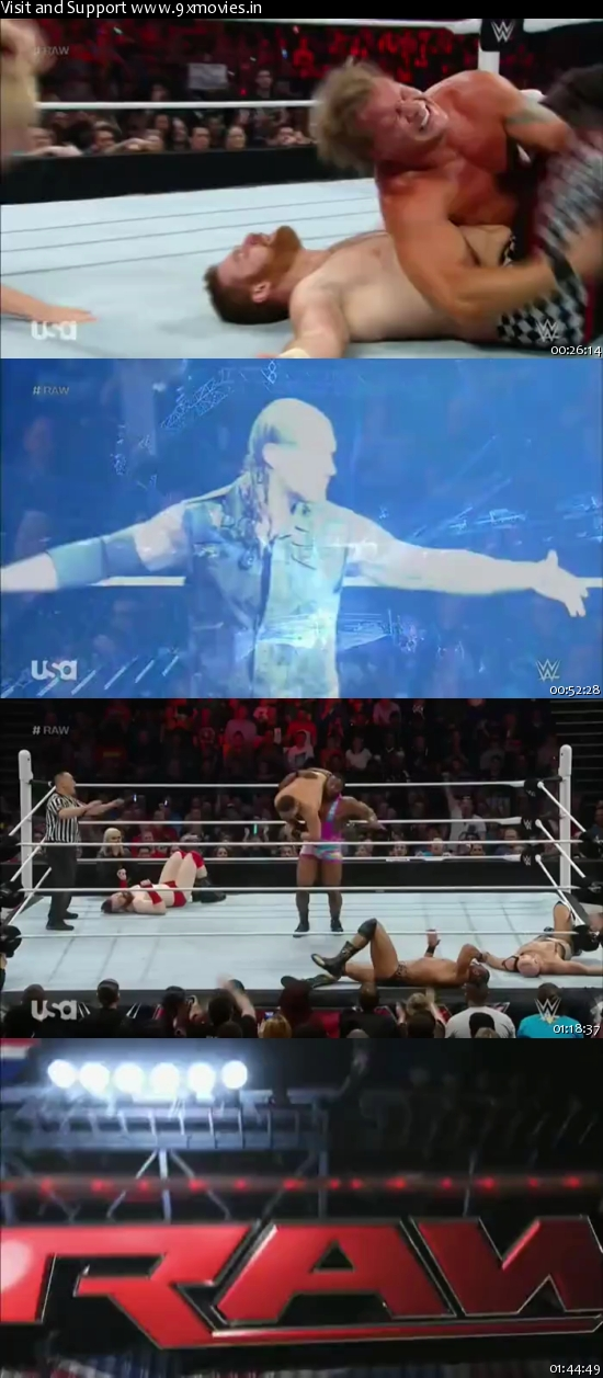 WWE Monday Night Raw 18 April 2016 HDTV 480p
