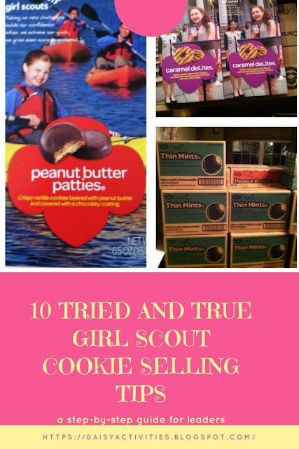 10 Girl Scout Cookie Selling Tips for Leaders