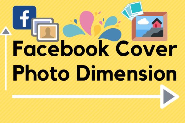 Facebook Cover Photo Dimension