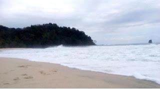 Sendiki Beach, beach east java, beautiful place, white beach, free beach, beautiful panorama