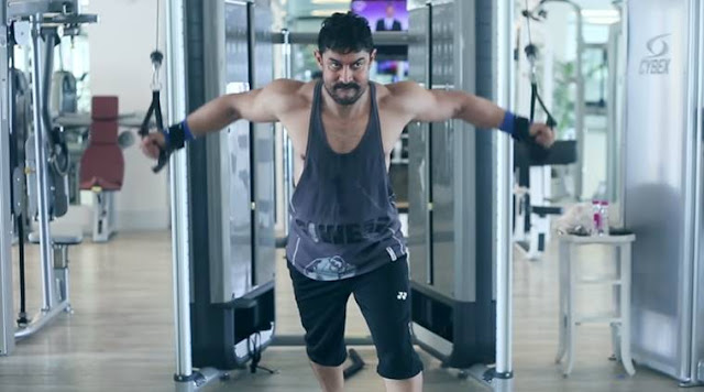 Aamir Khan, Fitness, Dangal, Work out