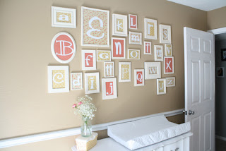 Fisher's Mommy: Cheap Baby Room Art