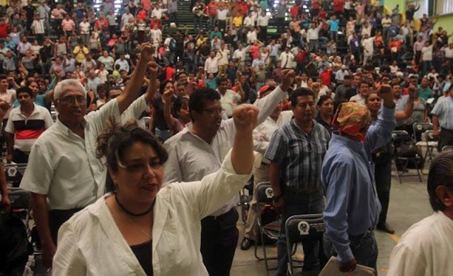 La CNTE manda desde Oaxaca a 500 observadores de casillas para apoyar a Delfina