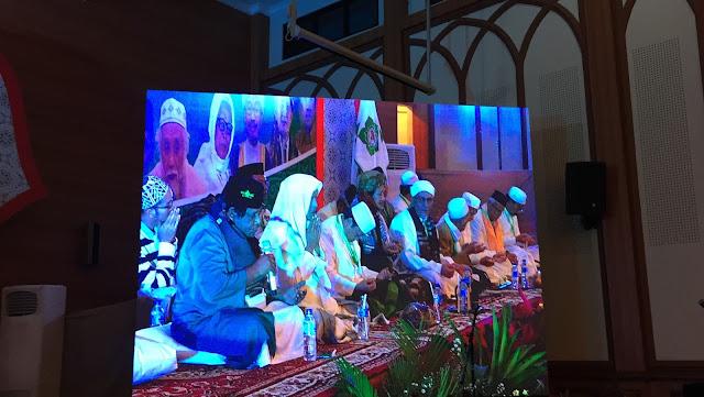 MD Hubbul Wathon, Habib Muhsin Turut Pimpin Dzikir Kebangsaan