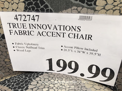 Deal for the Kuka Fabric Accent Chair at Costco