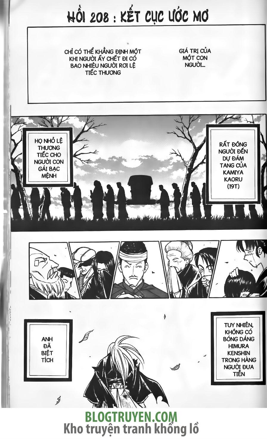 Rurouni Kenshin chap 208 trang 3