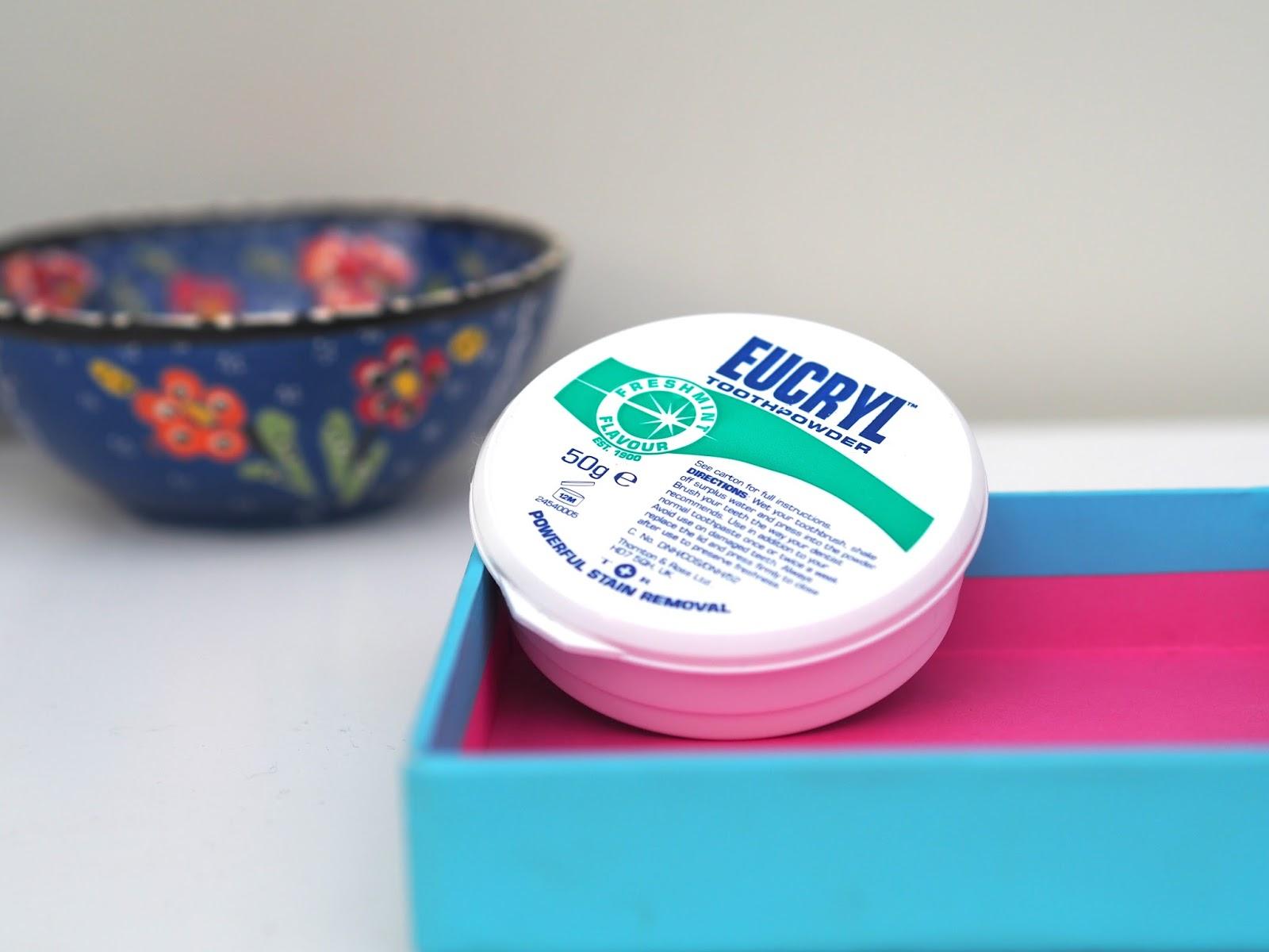 eucryl toothpowder