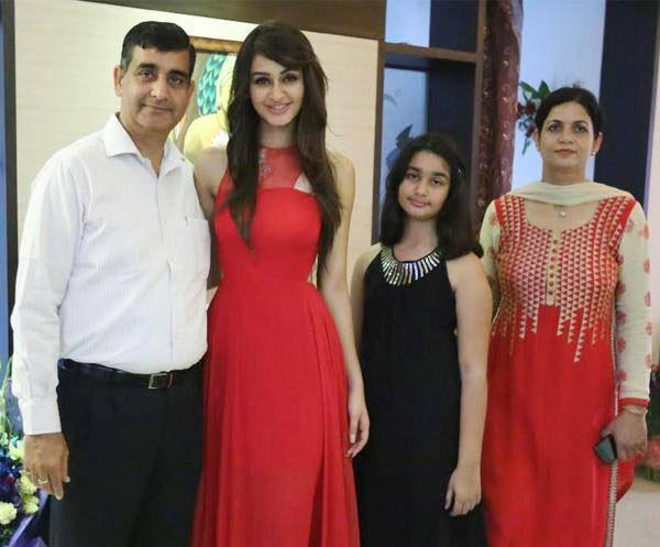 Aditi Arya Family Photos