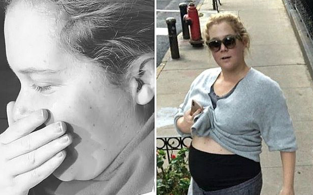 Watch: Amy Schumer Uses Her Sonogram to Urge Midterm Voting