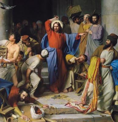 Jesús expulsa a los mercaderes