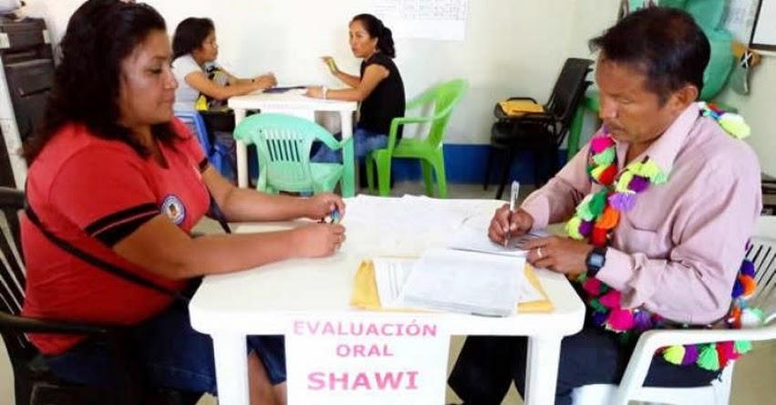 MINEDU: Más de 70 mil docentes fueron evaluados en lenguas originarias - www.minedu.gob.pe