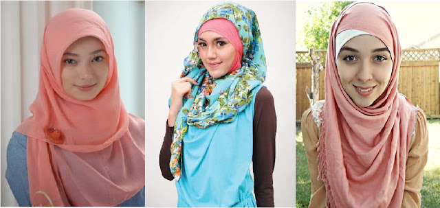 5 Kreasi Jilbab Segiempat Untuk Anak Muda Modis Gaya Modern Tutorial Hijab Dan Trend Fashion