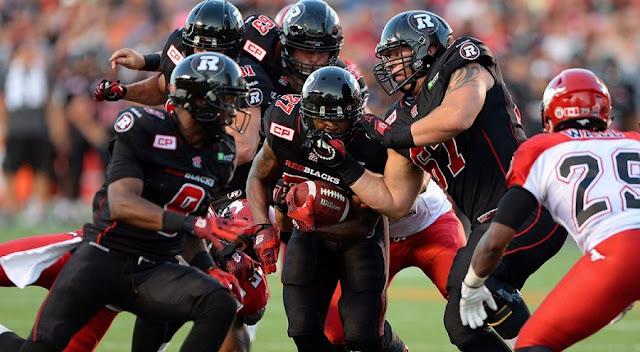 Assistir a um jogo de futebol americano do Ottawa Redblacks