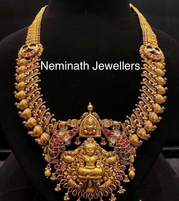 Mango Necklace from Neminath Jewellers