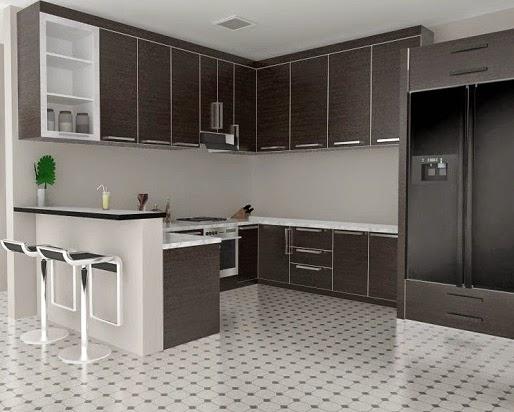 Warna Keramik Untuk Dapur  Desain Rumah Minimalis Terbaru