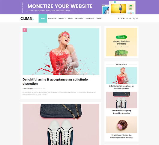 Gallery Blogger Templates: Clean Responsive Blogger Template