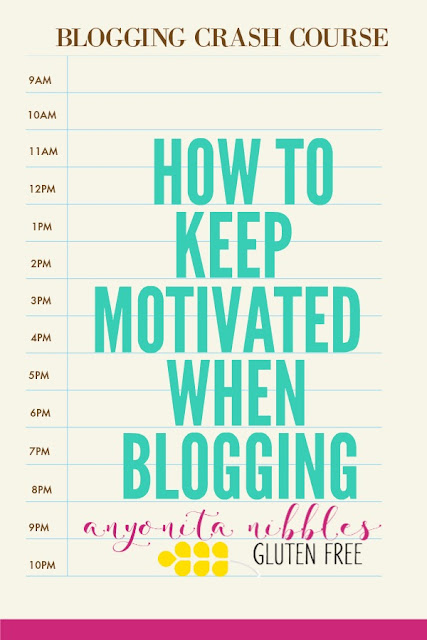 Discover 11 essential ways to keep motivated when blogging and prevent blogger burn out!