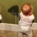 'Nak Cubalah Kat Anak Sendiri' - Reaksi Comel Baby Diserang Bayang? Dinosaur