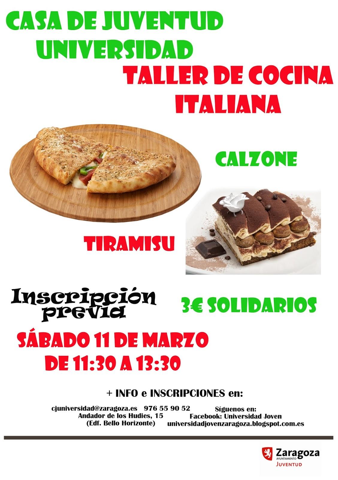 Universidad Joven: cocina Italiana