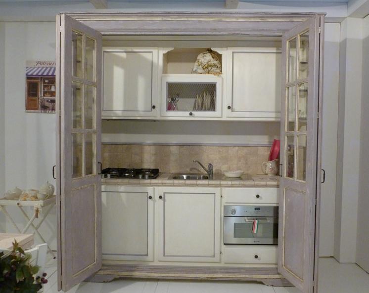 Boiserie c la cucina nell 39 armadio - Cucine compatte ikea ...