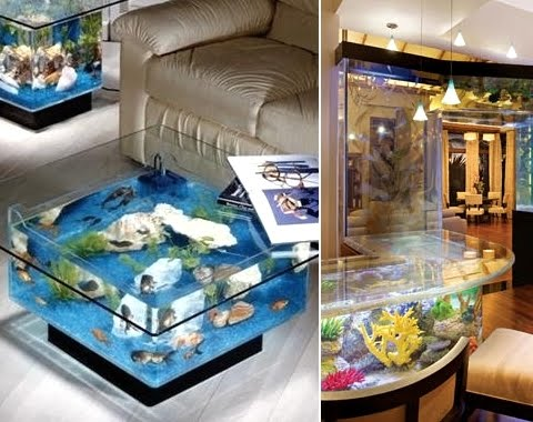 aquarium tables