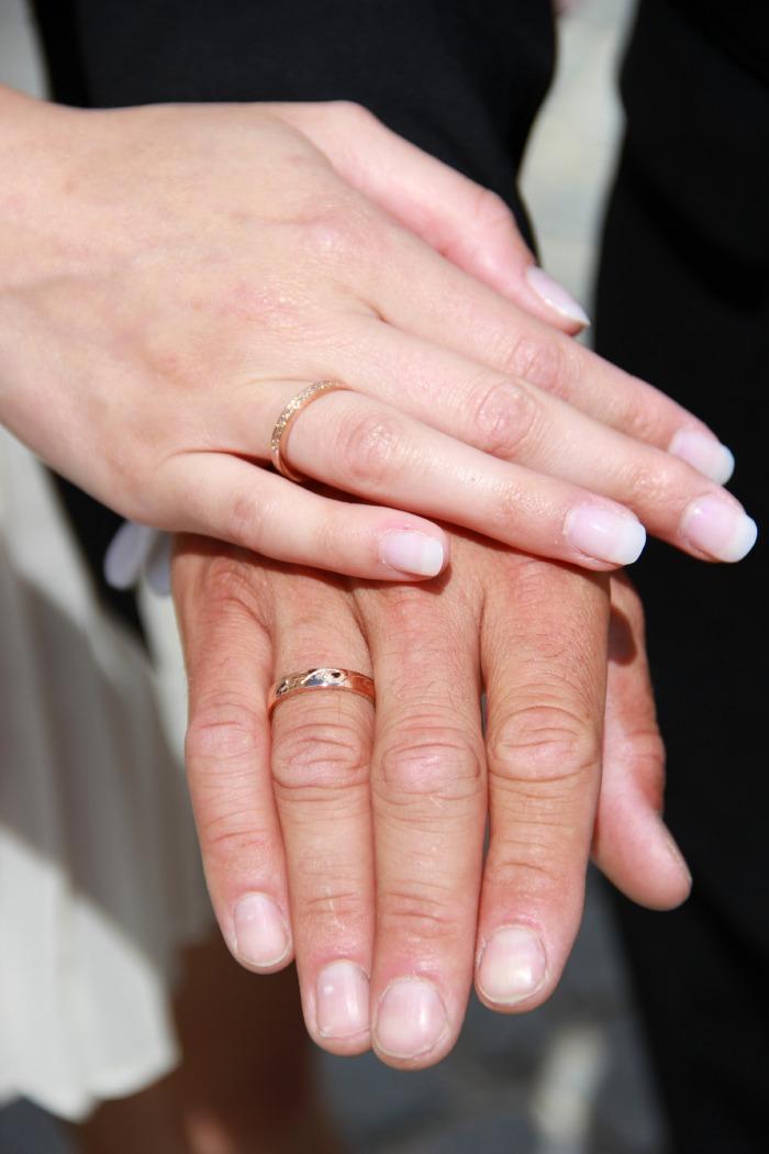 Schtig nach Hochzeit Eheringe