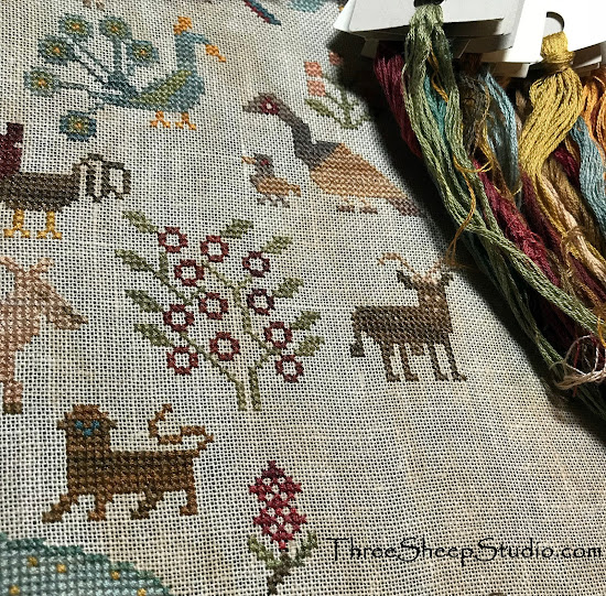 Cross Stitch Design by Beth Twist from Heartstring Samplery