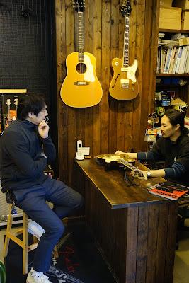 田中義人 Bruno Guitars TN-295 ブルーノギター