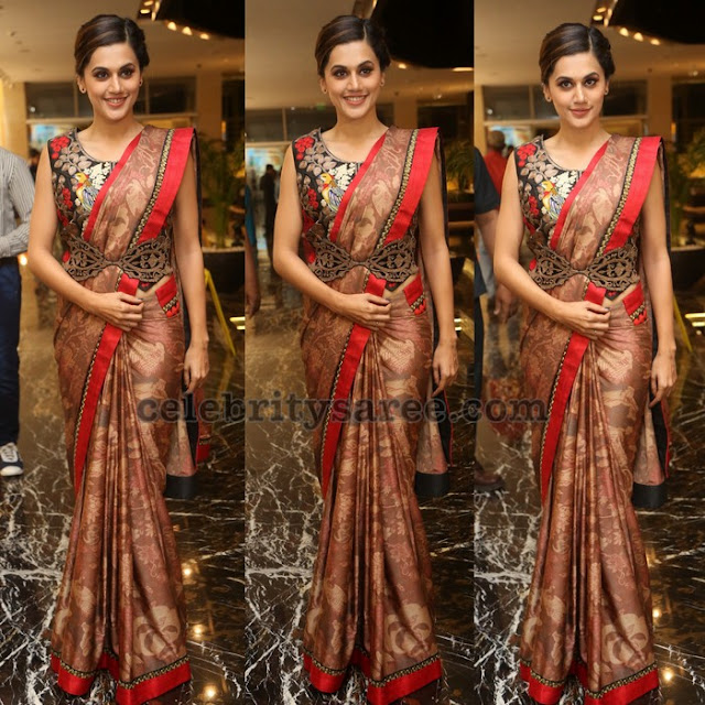 Taapsee at Anando Brahma Prerelease Party