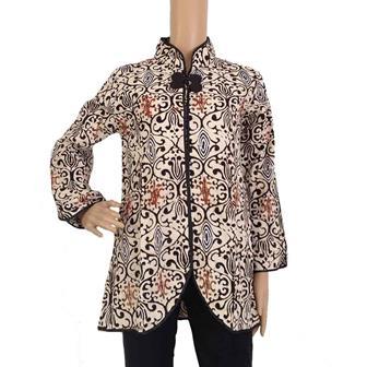 Model Baju Bolero Batik Lengan Panjang