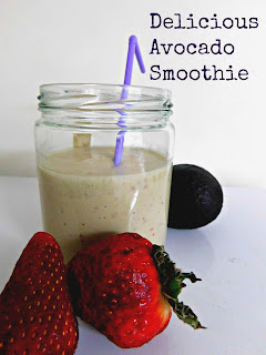 turning mommy avocado smoothie
