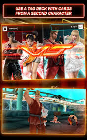Tekken Card Tournament 3.314 Apk Screenshot