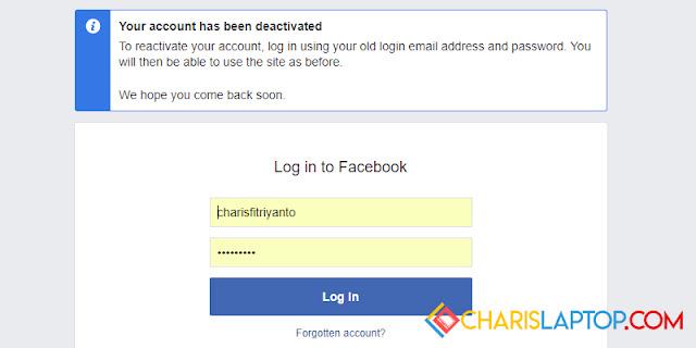 Cara Terbaru Menonaktifkan Akun Facebook Sementara