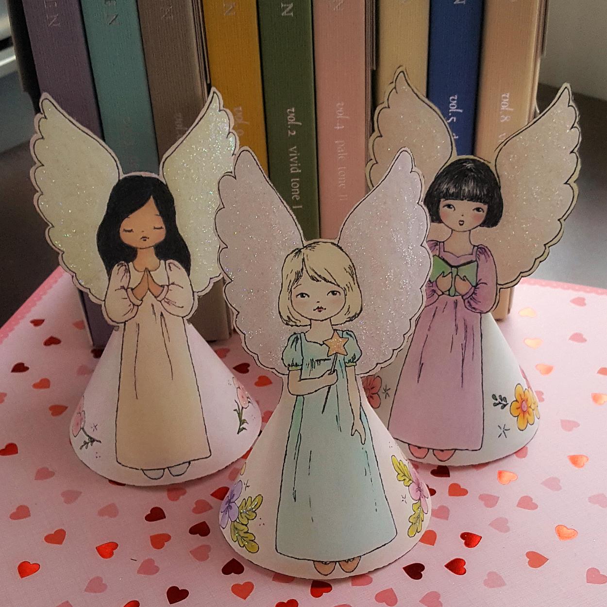 Картинки поделки на ангела