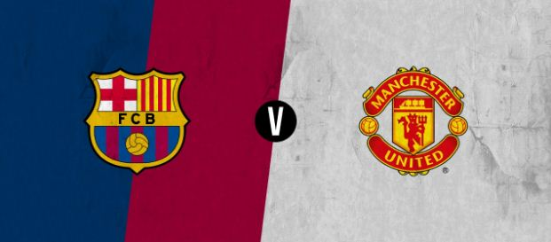 Susunan Pemain Barcelona vs Manchester United ICC 2017