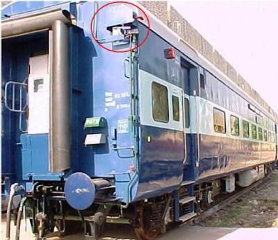 train bogie - emergency alarm pull chain - OMitra train app