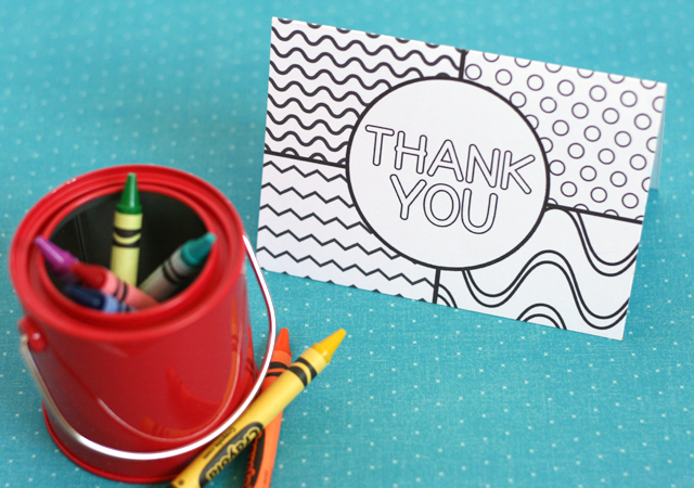 Even kids that can only handle a few words at a time can take part with these printable thank you cards for kids! Printable Thank You Cards For Kids My Sister S Suitcase Packed With Creativity